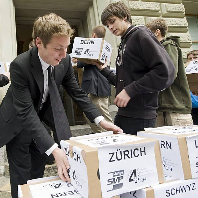 Einreichung in Bern